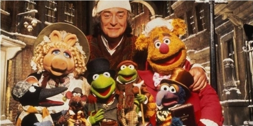 It's Sir Michael Caine with MUPPETS