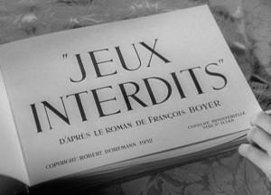 title René Clément Forbidden Games Jeux interdits DVD Review PDVD_001