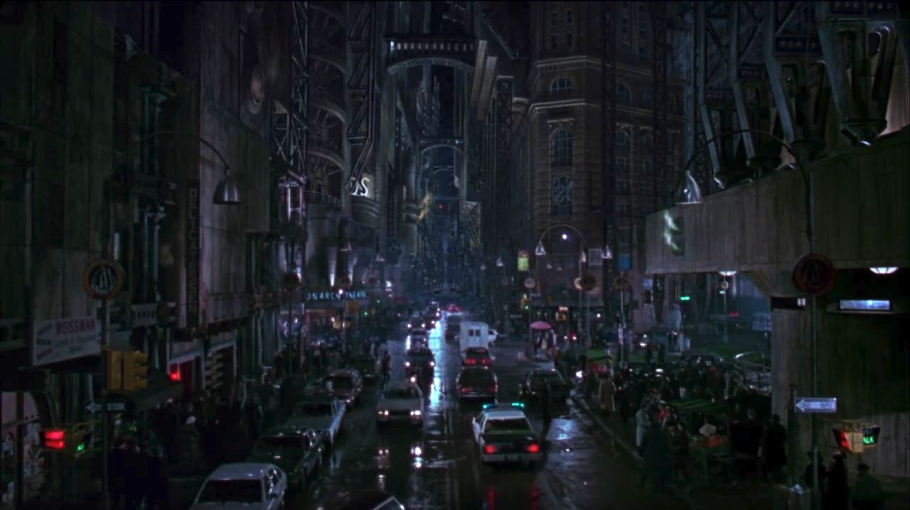 Gotham City and The Metropolis Of Tomorrow   We Recycle Movies
