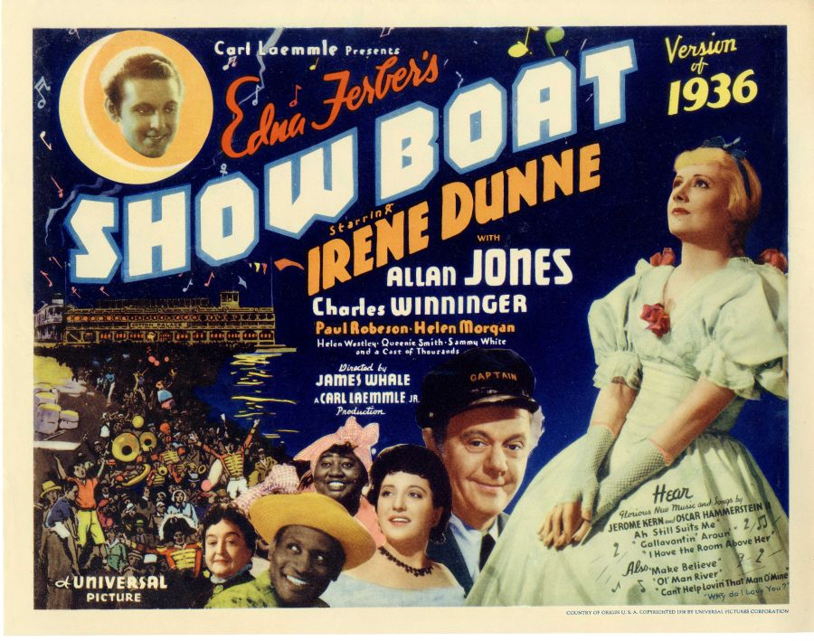 Image result for images of 1936 movie show boat